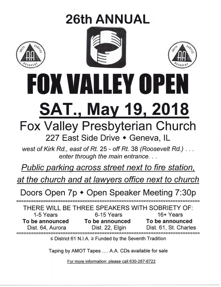 26th Annual Fox Valley Open 1