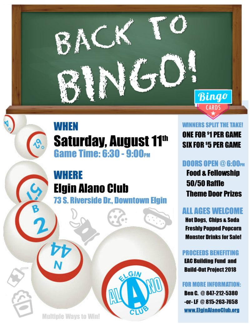 Back to BINGO Night! 1