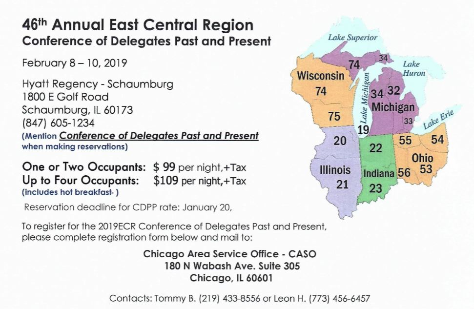46th Annual CDPP Conference - East Central Region 1