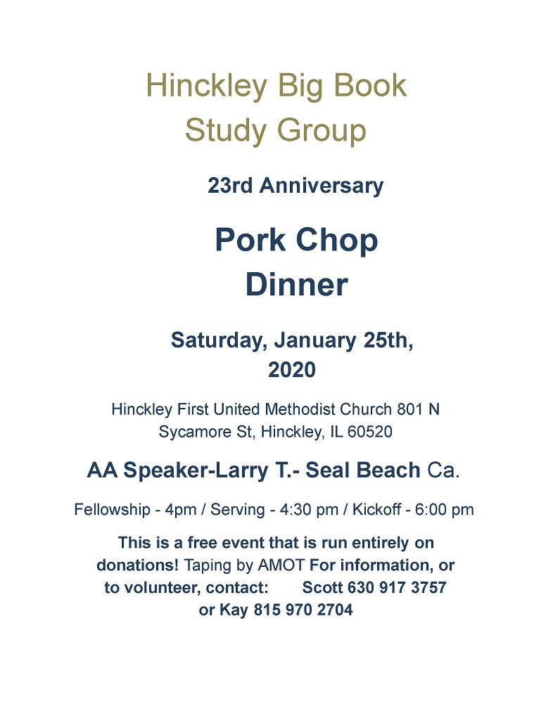 2020 Hinckley Pork Chop Dinner 1