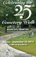 2012 25th Anniversary Cemetery Walk Video