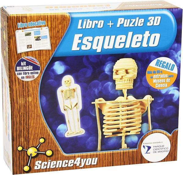 Puzzle esqueleto 3D