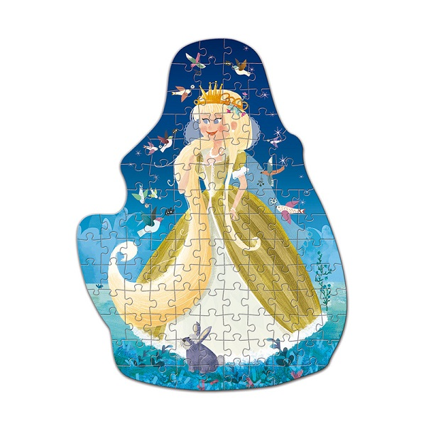 Fantasy puzzle princesa