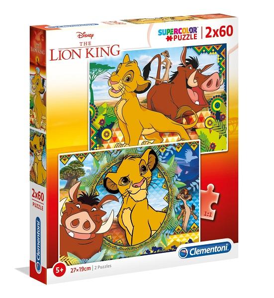 Puzzles infantiles 2 x 60