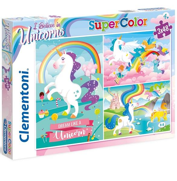 Puzzles infantiles 3 x 48
