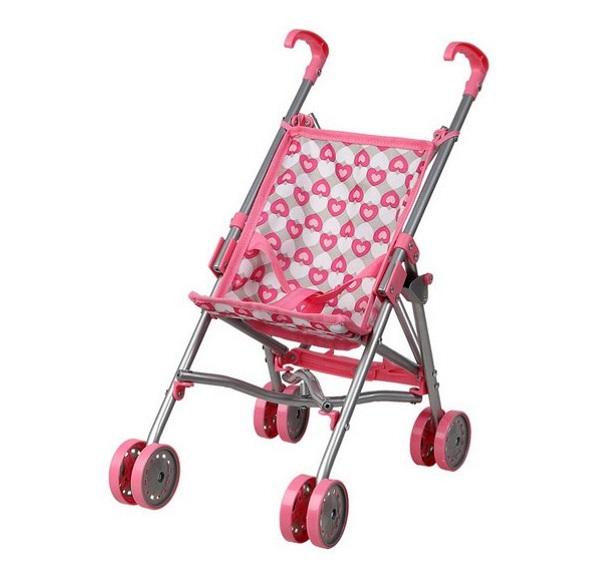 Carrito muneca rosa