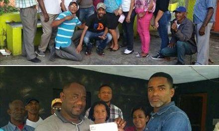 Kiko Ramirez nuevo presidente de junta de vecinos de Sabana Toro