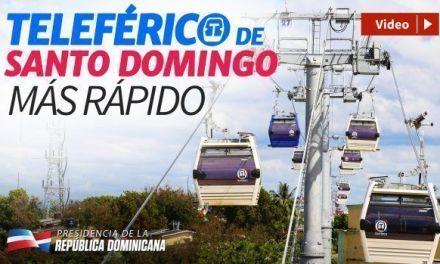 Teleférico de Santo Domingo. Sin humo, sin ruido, más rápido, cero tapón