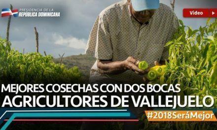 Mejores cosechas con Dos bocas. Agricultores de Vallejuelo #2018SeráMejor