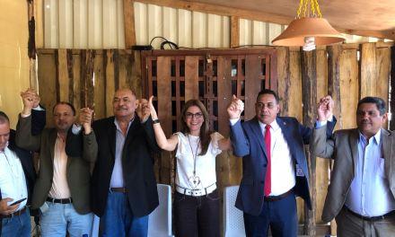 Carolina Mejía recibe apoyo de exsenador Ramón Albuquerque a Secretaría General del PRM