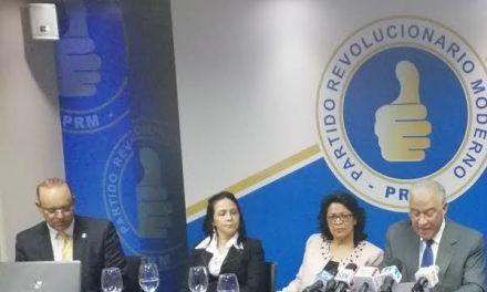 PRM instruye a sus diputados sobre primarias en proyecto de Ley de Partidos