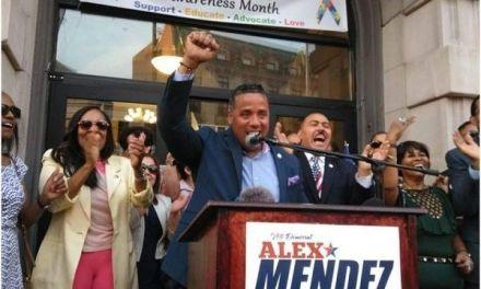 Apoyo masivo para candidato alcaldía Paterson-Nueva Jersey