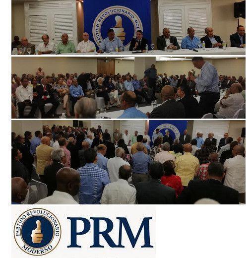 Comisión Política PRM aprueba informe financiero y convoca a la Convención de Delegados para juramentar a Paliza y Carolina el jueves