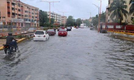 Las lluvias torrenciales inundaron gran santo domingo