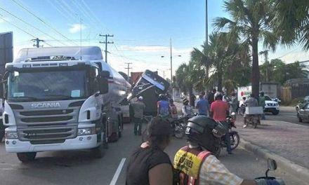 Los vehículos pesados siguen provocando caos