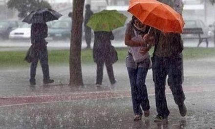 Vaguada provocará lluvias durante la semana