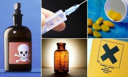 Confunde veneno por medicina