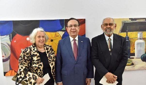 Banco Central inaugura exposición pictórica