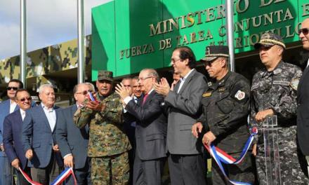 Medina entrega el quinto puesto de control fronterizo
