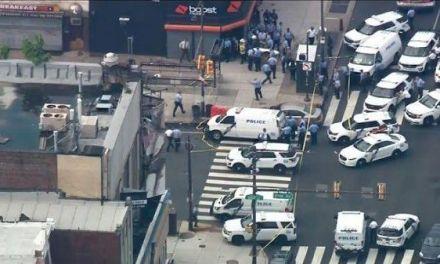 Varios policías resultaron heridos durante un tiroteo en Filadelfia
