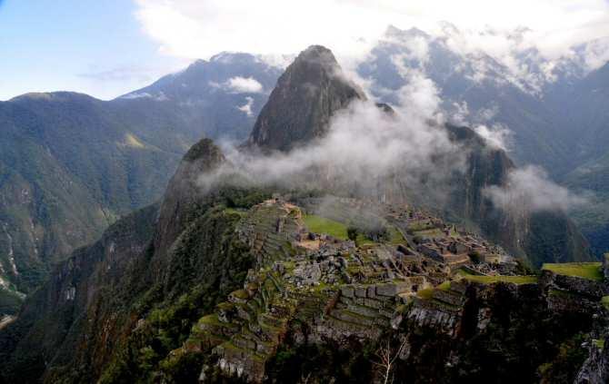 Machu Picchu fue construido intencionalmente sobre fallas
