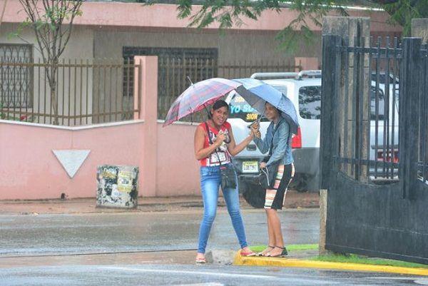 20 provincias bajo alerta por vaguada