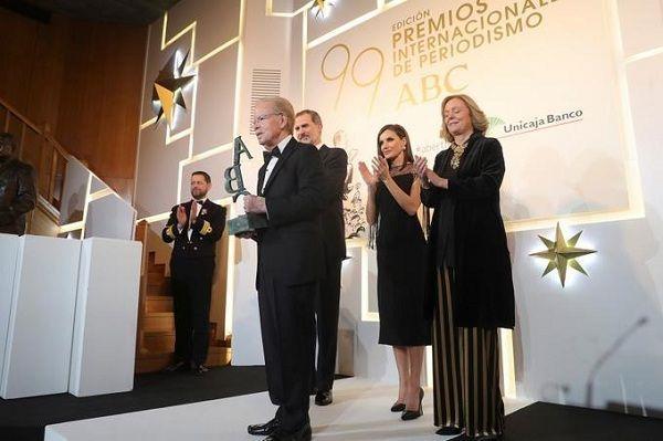 José Luis Corripio, galardonado en España por su trayectoria