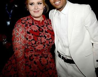 La visita de Chris Brown a Adele que ha desatado un mar de rumores