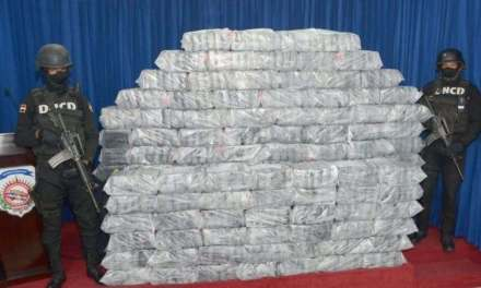 Incautaciones de droga en RD aumentan 629% en primeros cuatro meses Gobierno Abinader