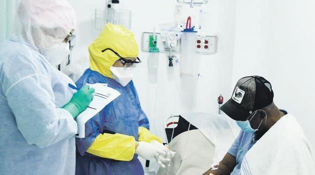 El Gran Santo Domingo acumula la mitad de los 1,104 nuevos contagiados
