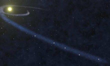 Nube de gas con forma muy alargada en el vecindario interestelar de la Tierra