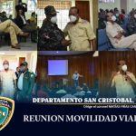 El coronel Licdo. Matías Frías Candelario, P.N se reune con José Montas