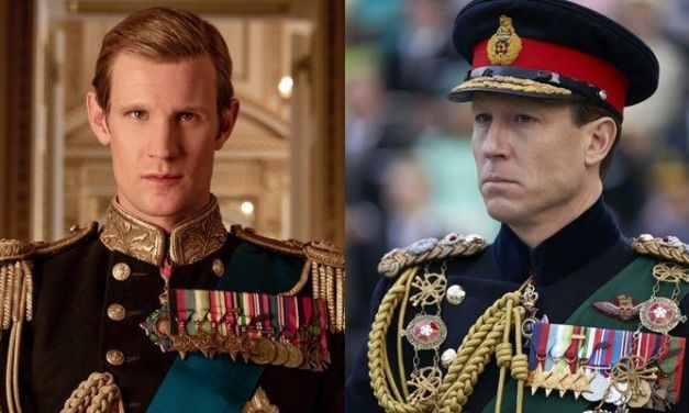 'The Crown': Matt Smith y Tobias Menzies dan el pésame a la casa real británica por la muerte de Felipe de Edimburgo