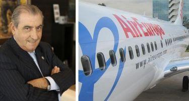 Hidalgo: RD es el único país donde Air Europa está volando casi diario