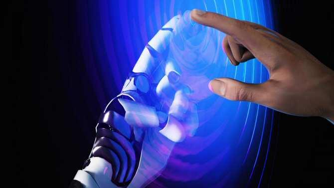 Tocar superficies húmedas, el gran reto para los robots