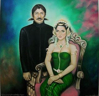Pernikahan Panembahan Senopati dan Kanjeng Ratu Kidul