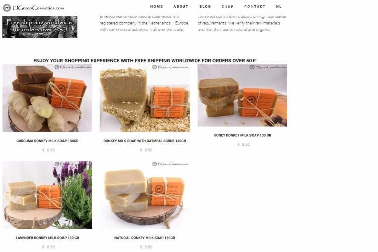 new eshop with soaps from donkey milk-2
