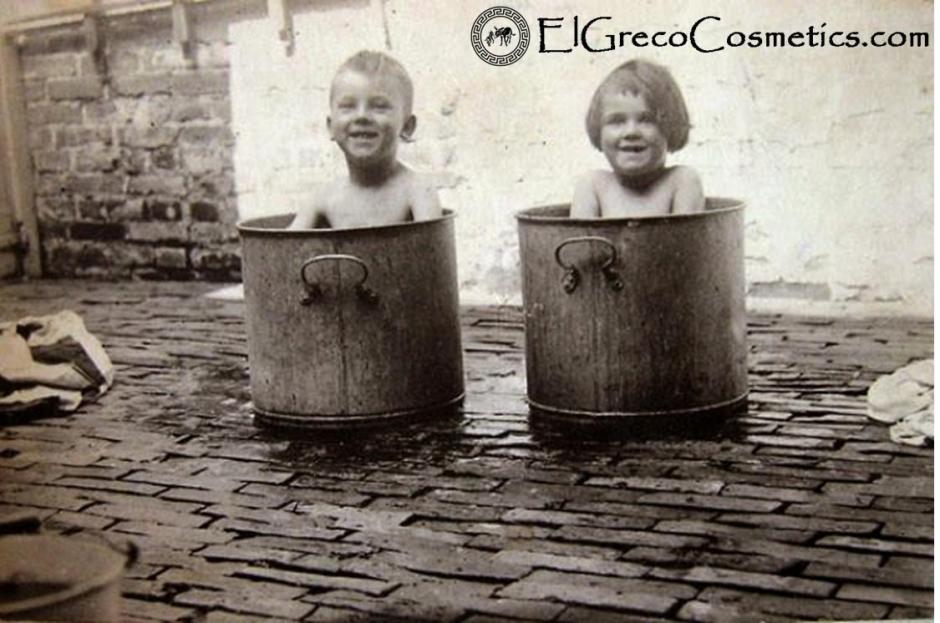 How El Greco Cosmetics handmade natural donkey milk soap cleans