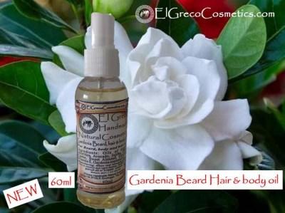 Gardenia Beard hair & body Oil 60ml