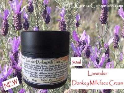 Lavender Donkey milk Face Cream 50ml