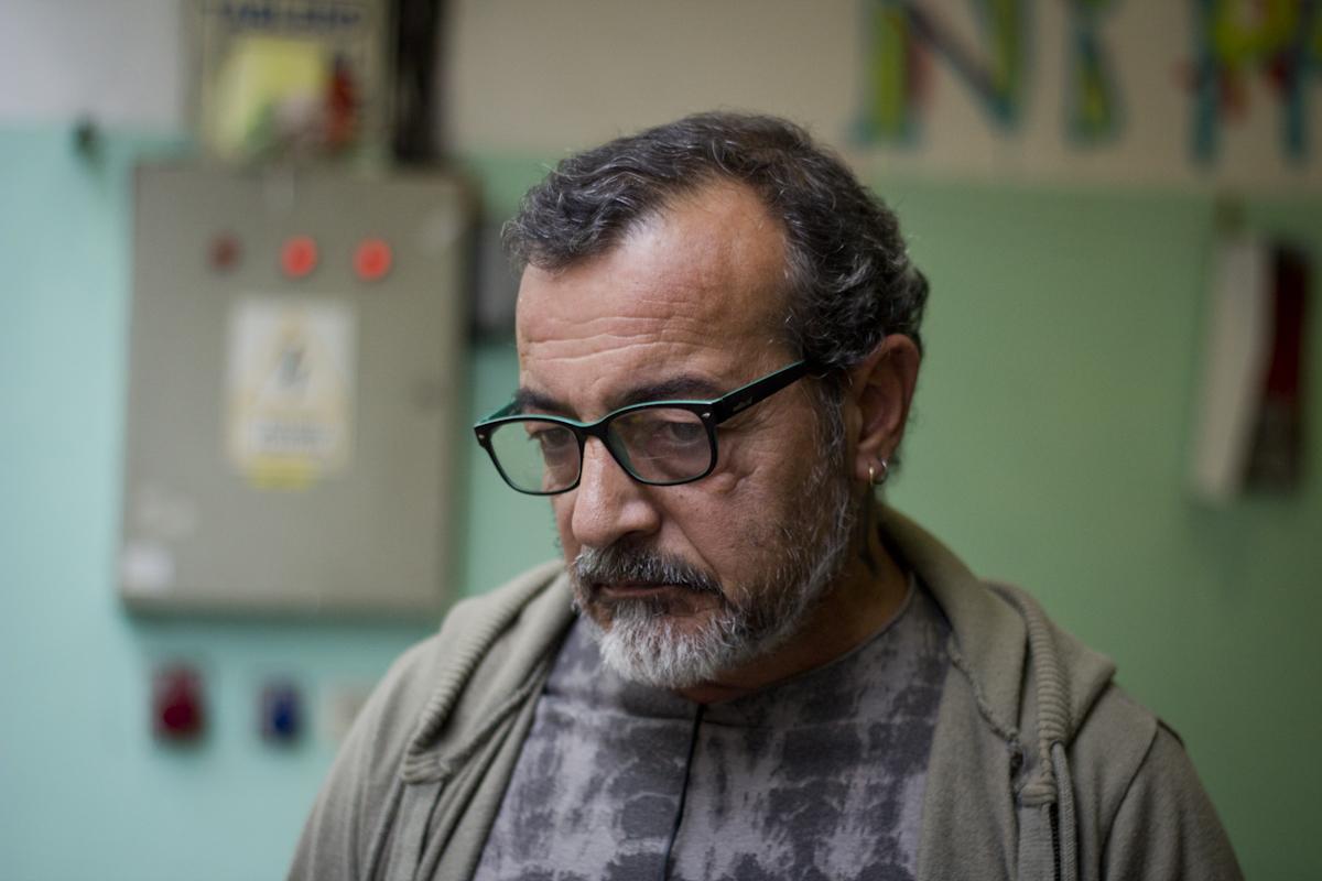 Horacio en el Centro Che Guevara