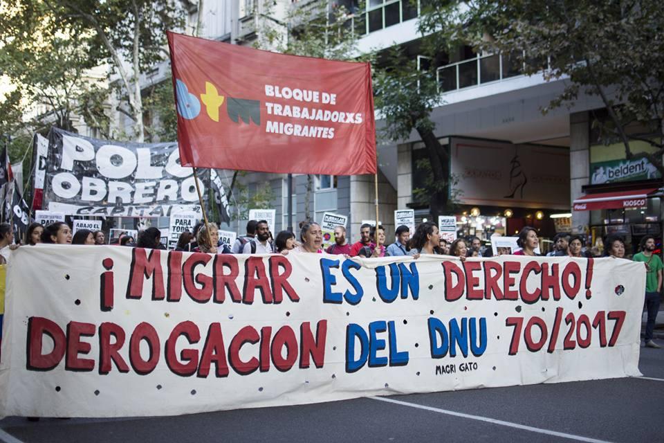 Migrar no es delito