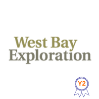 West Bay Exploration logo with year 2 ribbon