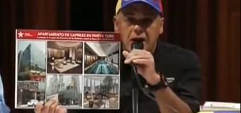 """[VIDEO] ¡CARA E' TABLA! Jorge Rodríguez: """"Con lo que cuesta apto. de Capriles en NY hacemos un festival de un mes"""""""