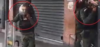 [VIDEO] La GNB se ahogó con sus propias bombas lacrimógenas en El Paraíso