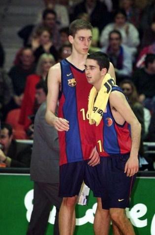 navarro y gasol en el barcelona