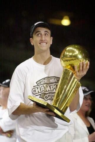 Ginobili campeon 2003