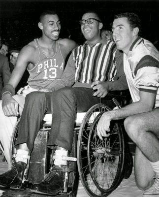 Wilt Chamberlain, Maurice Stokes y Jack Twyman
