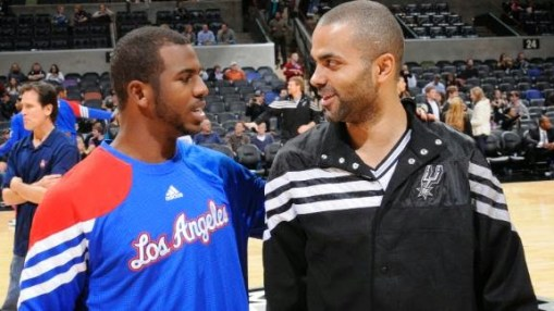Chris Paul vs. Tony Parker