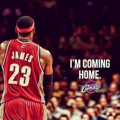 Lebron I'M coming home
